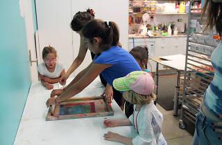 Silk Screening Workshop