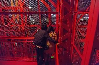 ホワイトデーは東京タワーを歩いて昇ろう!
