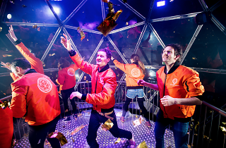 crystal maze dome inside guide hints review photos pictures london immersive first look exclusive