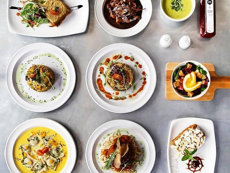 Restaurants vegetarians i vegans