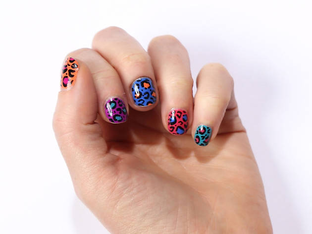 If you want what all the cool girls are getting, try Trophy Wife Nail Art