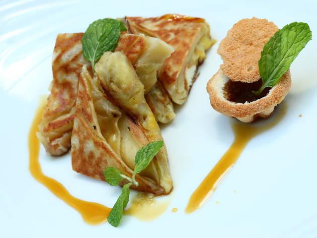 Gastro Sentral Challenge the Chef menu