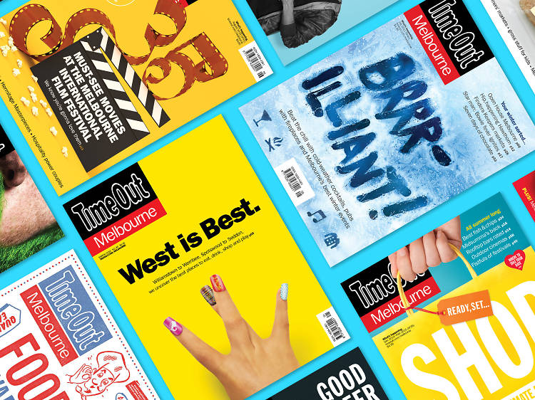 Where to find Time Out Melbourne magazine