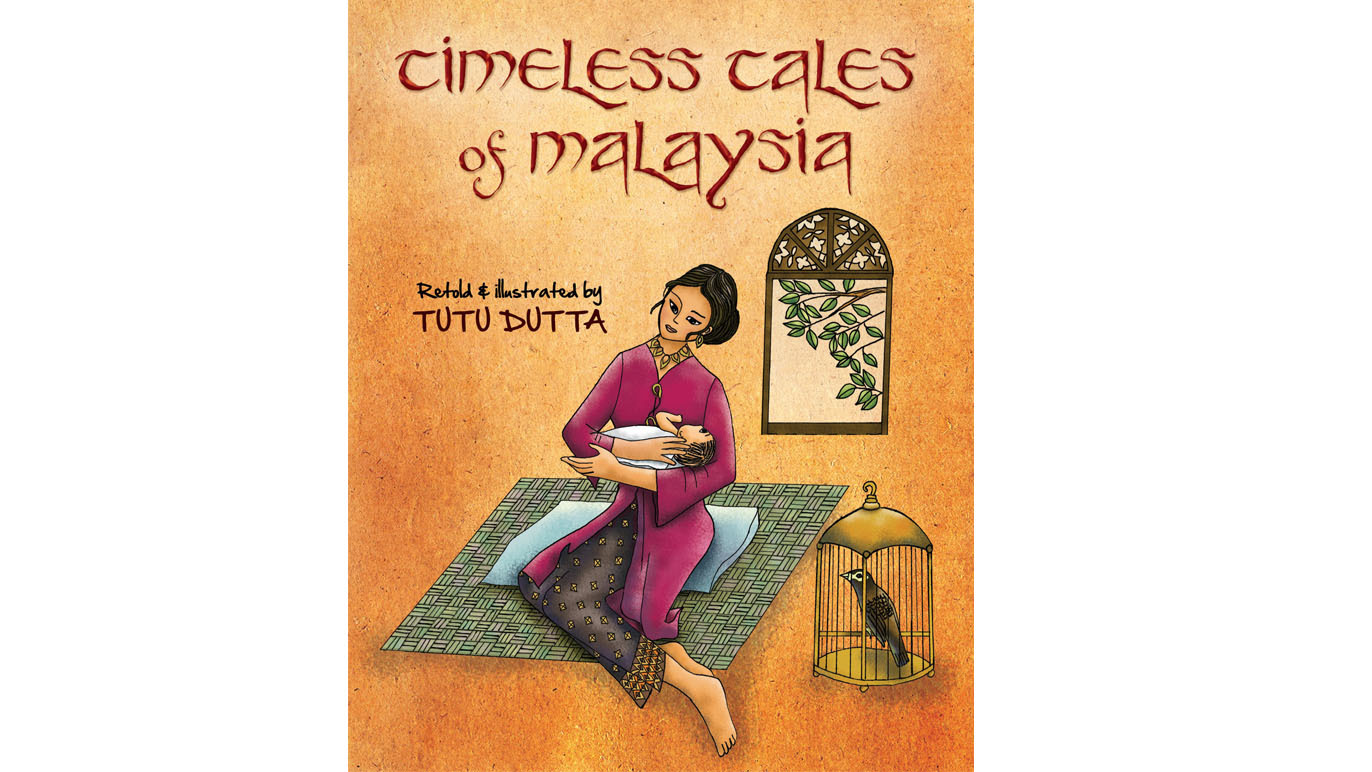 Read a children's book about Malaysian folktales featuring female central characters