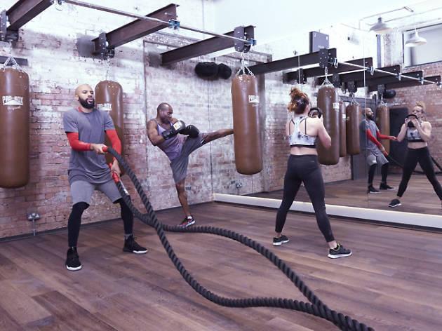 Boxing at Blok Fit