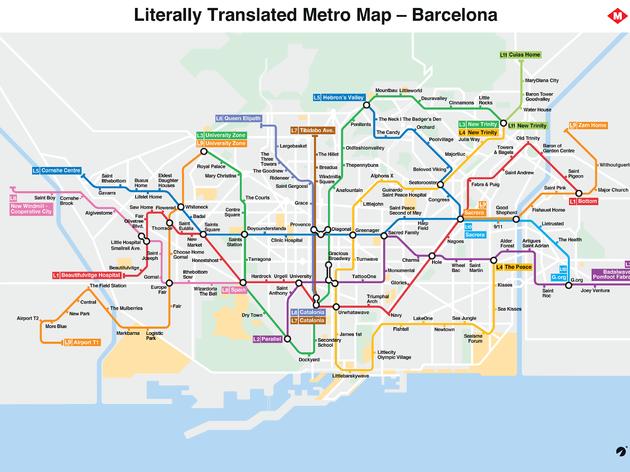 mapa metro traduccions