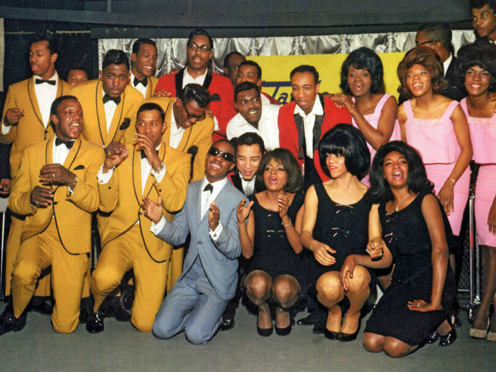 The Temptations, The Miracles, Stevie Wonder, Martha & the Vandellas and The Supremes at EMI Records