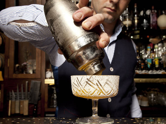 100 best bars and pubs in london, nightjar