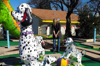 (Photograph: Courtesy Peter Pan Mini-Golf/Mike Dismukes)