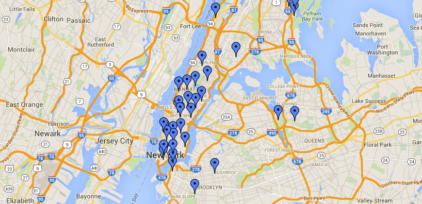 Check out our map celebrating trailblazing women in NYC