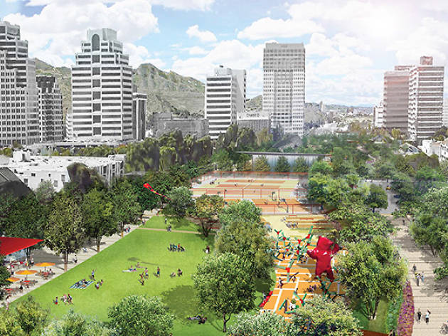 A look at the proposed plans for Glendale's freeway cap park