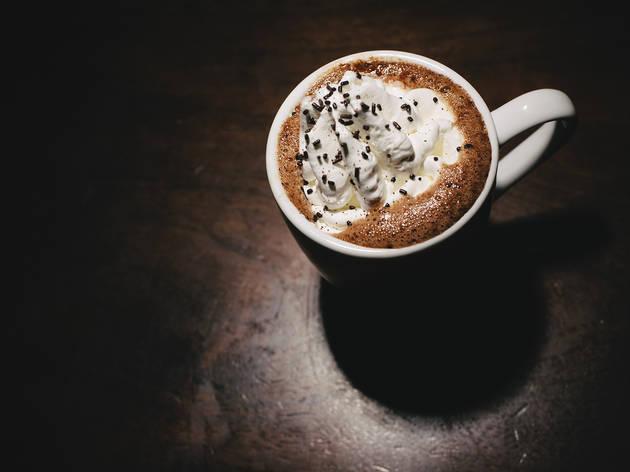 Irish Coffee at Spolem Cafe