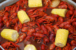 Black Sheep Lodge Crawfish Boil