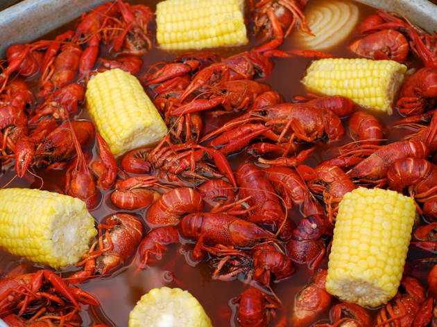 Louisiana Swamp Thing and Crawfish Festival