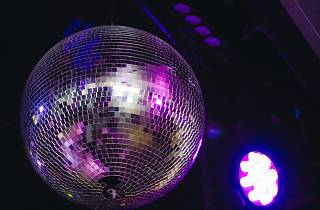 A disco ball at Ferdydurke nightclub in Melbourne