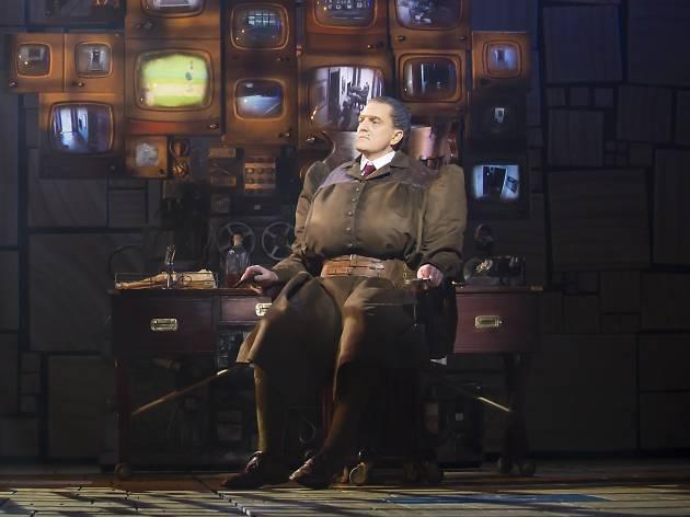 James Millar as Miss Trunchbull in Matilda the Musical