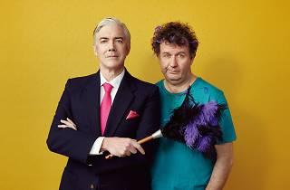 A promo shot for The Odd Couple at Melbourne Theatre Company