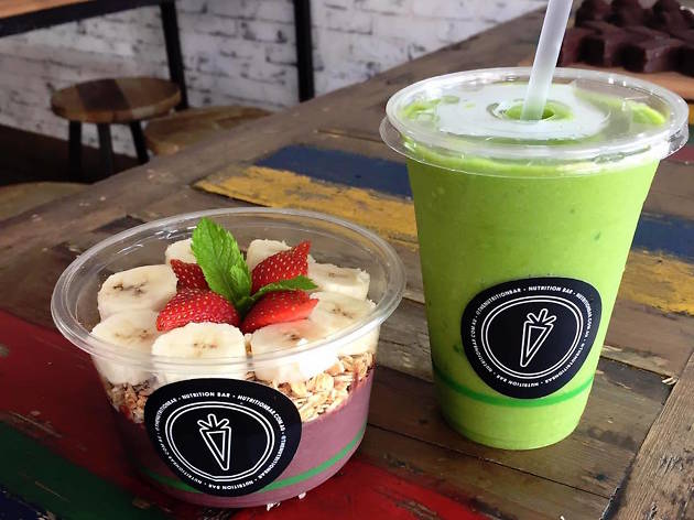 Nutrition Bar smoothies