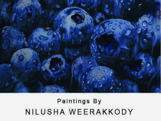 Art exhibition by Nilusha Weerakkody