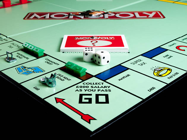 Trafalgar Square is being turned into a giant Monopoly board