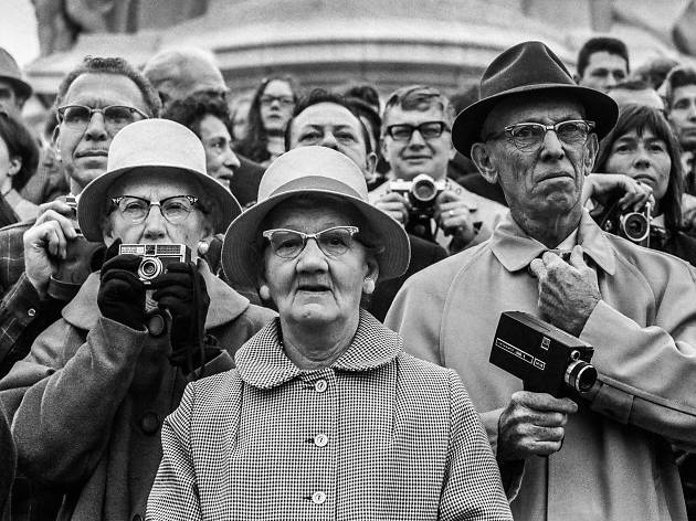 Best London photos: Jane Bown: 'American Tourists', 1968.