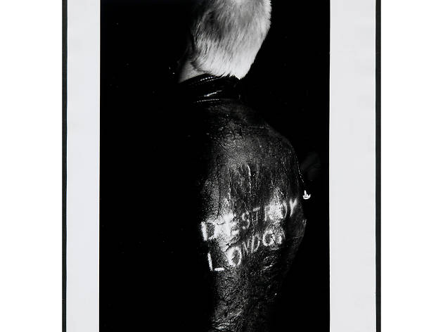 Best London photos: Karen Knorr and Oliver Richon: 'Destroy, from the Punks Series', 1976. Tate collection. © Karen Knorr and Olivier Richon