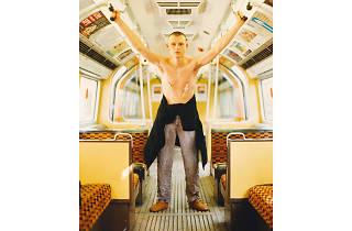 Best London photos: Wolfgang Tillmans: 'Lars in Tube', 1993. © Wolfgang Tillmans, © Maureen Paley