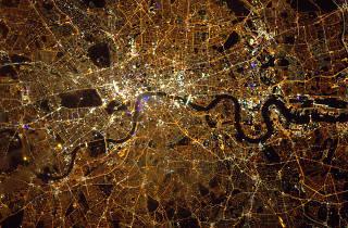 Best London photos: Tim Peake: 'London from Space', 2016. © ESA/NASA