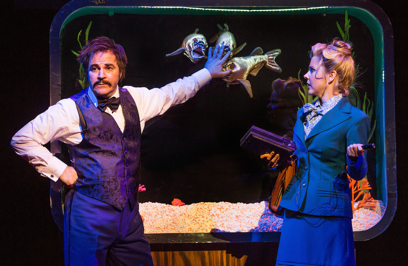 See Broadway's Disaster! before it closes this weekend