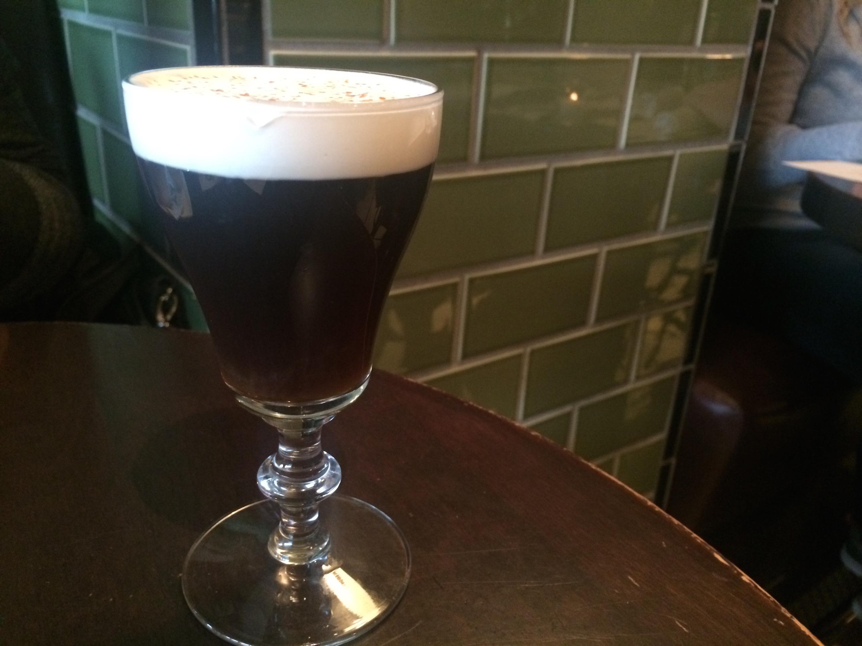 Irish Coffee at the Gage