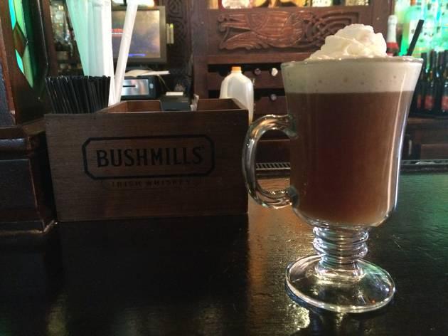 Irish Coffee at Chief O'Neill's Pub