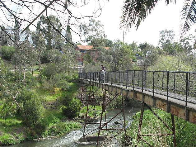 Footbridge over the Merri Creek