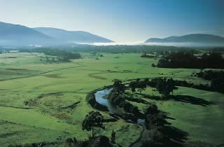 Overlooking Coldstream in the Yarra Valley