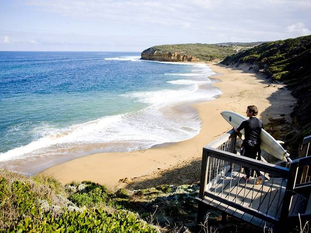 Bells Beach near Torquay on the Victorian Surf Coast
