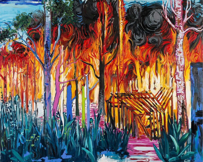 Abraham Lacalle. Incendios
