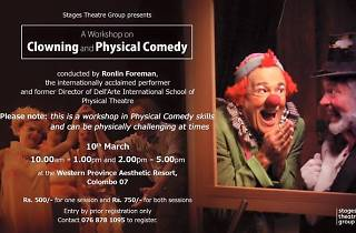 A workshop on clowning and physical comedy