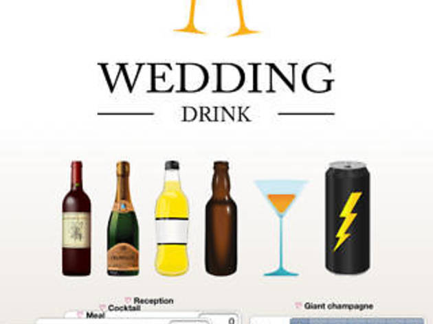 La plus pompette : Wedding Drink