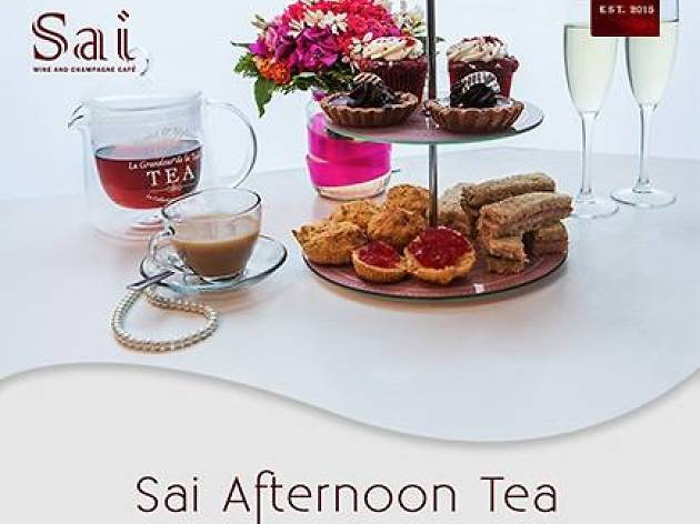 Afternoon Tea at Sai