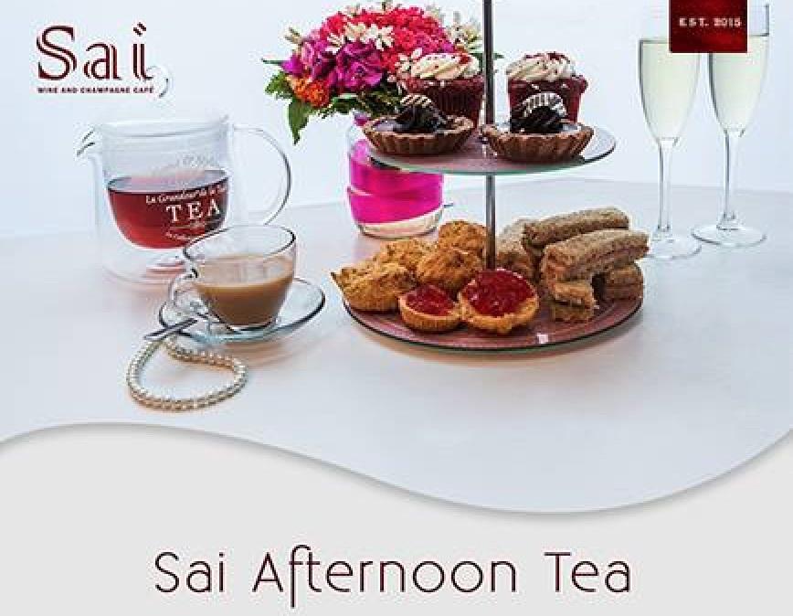 Afternoon Tea at Sai