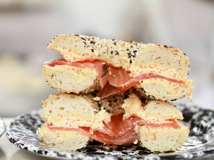 #4 Smoked Salmon from Mile End Bagels