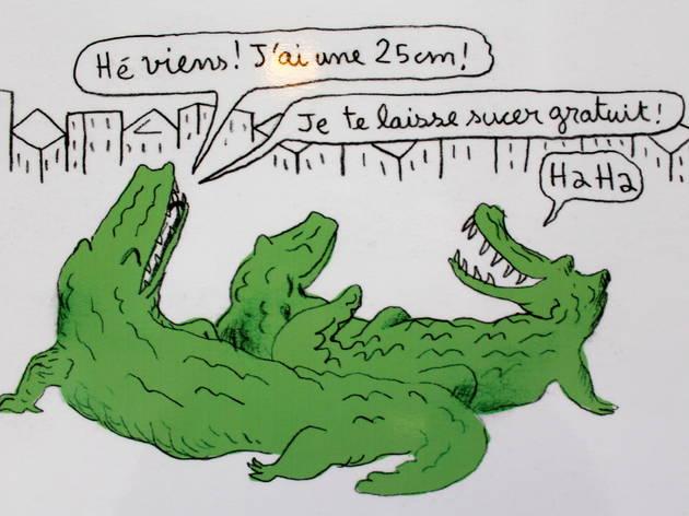projet crocodiles (© Thomas Mathieu/C.Gillard)