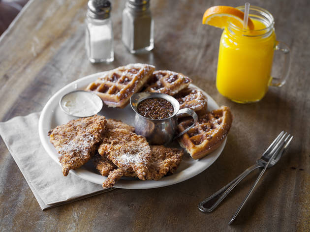 The best chicken and waffles in L.A.