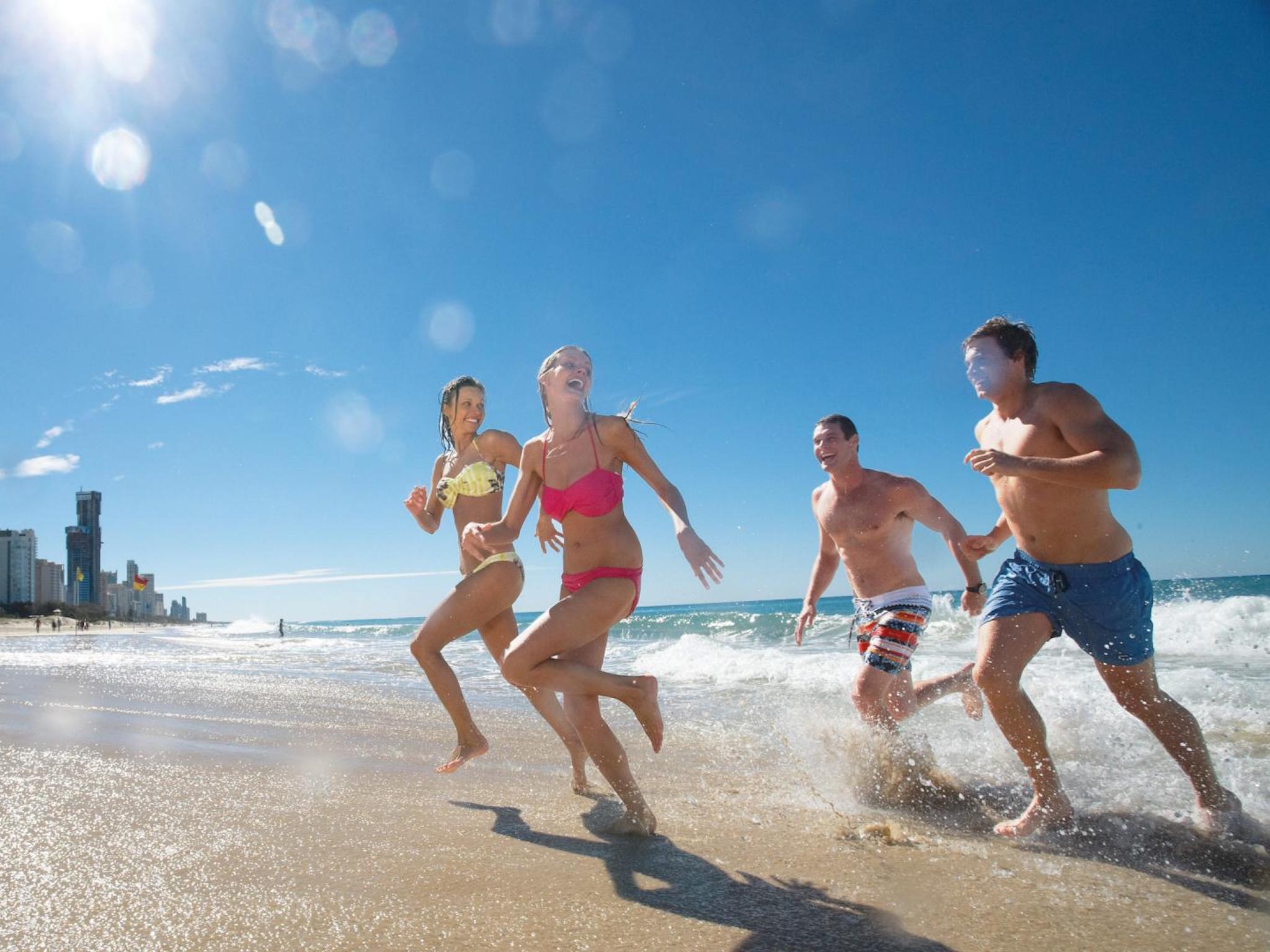 Gold Coast beach generic