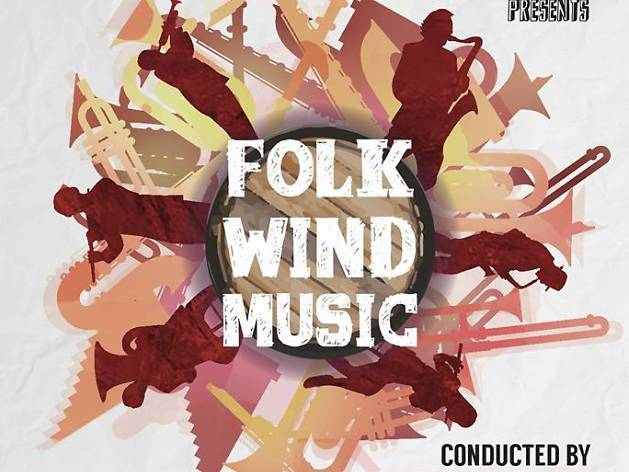 Folk wind music