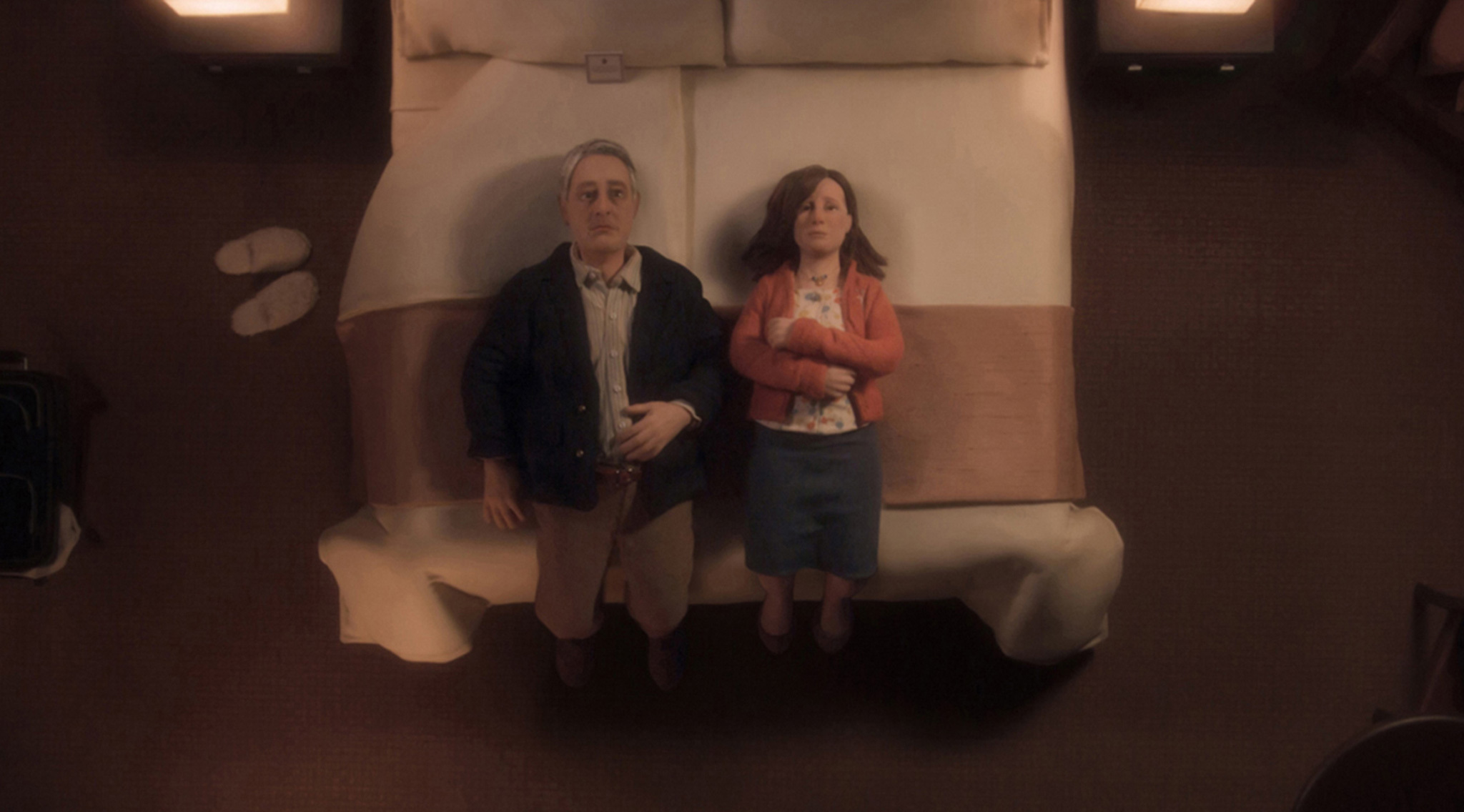 Five animated sex scenes - 'Anomalisa'