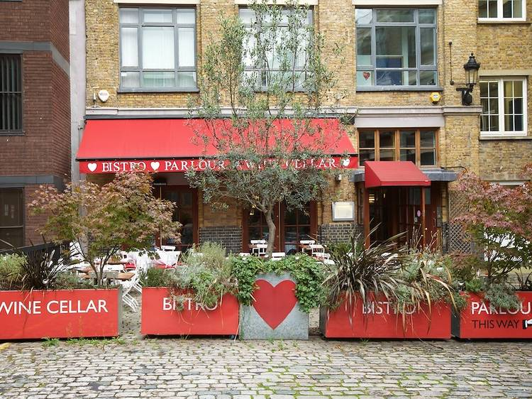 The Bistro at the Bleeding Heart
