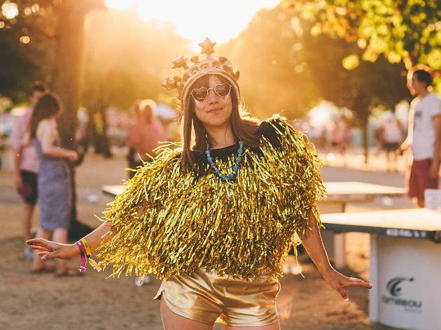 Go to a music festival in a London park
