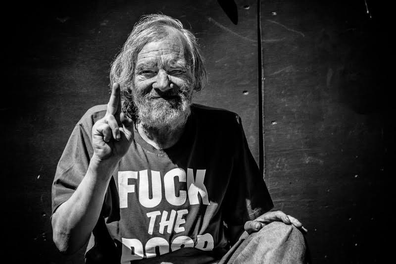 Erik Marc Trensig. Fuck the poor