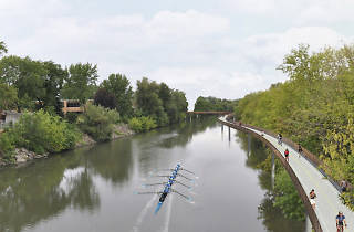 Chicago River Trail, Addison Underbridge Connector
