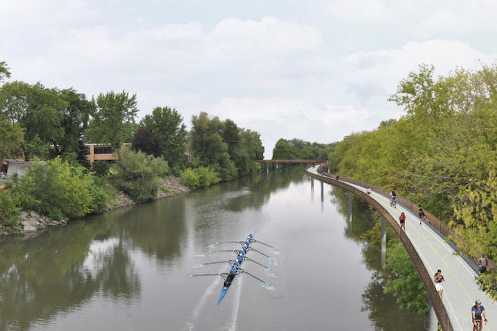 Chicago River could have bike path by 2017